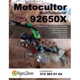 Motocultor Multifuncion 210 cc